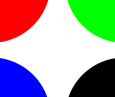 Higher resolution circles drawn with antialiasing, with a delta of 0.01
